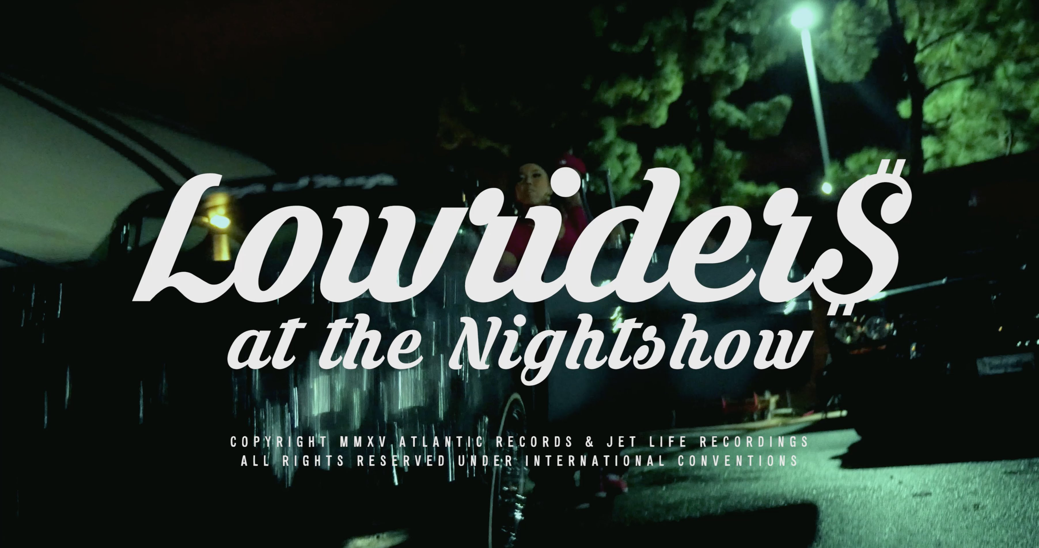 """Curren$y """"LOWRIDERS AT THE NIGHTSHOW"""""""